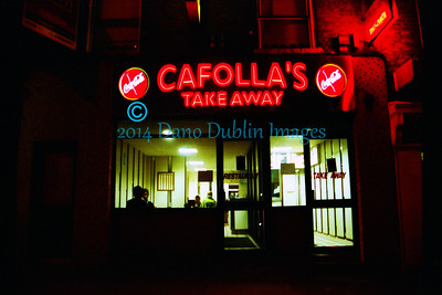 "Cafolla's for a ""one and one"""