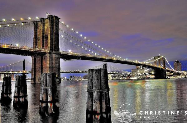 Brooklyn Bridge Lights II