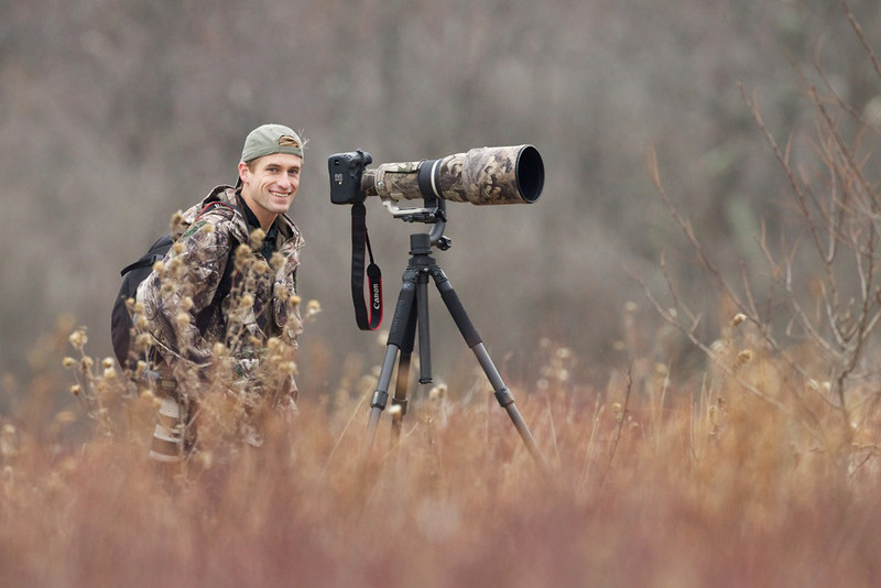 Shooting deer in Shenandoah National Park. Photo by Ben Clewis.