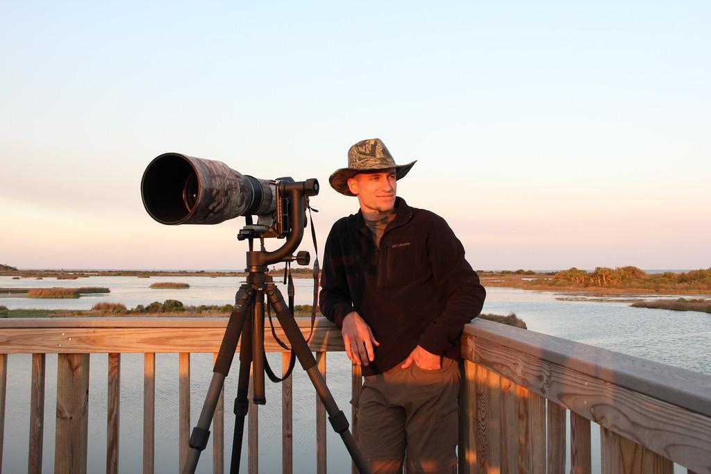 Observation deck of Bull Island, SC