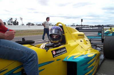 Formula Holden test drive, Winton 2001
