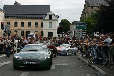 Le Mans drivers parade, 2009