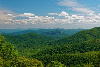Looking Glass Rock -  Pisgah National Forest