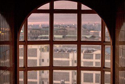 View from the Precious Hotel, Nairobi