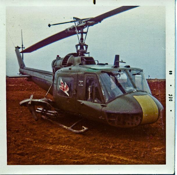 Huey firebird gunship
