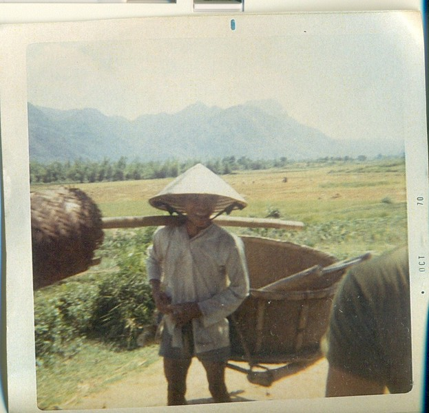 Gook carrying supplies