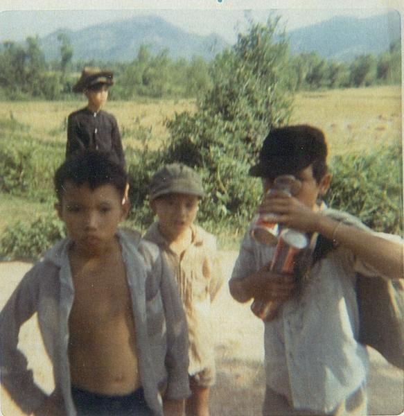 Gook kids selling sodas