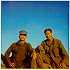 Msgt Minh and Koi