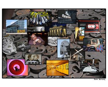 Europe 2008 calendar collage