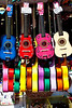 10 bucks will get you a colorful, but maybe not tuneful, guitar on Olvera Street.