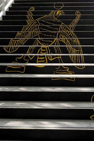 DSC00169 Steps to Exhibit-Egyptian Decoration
