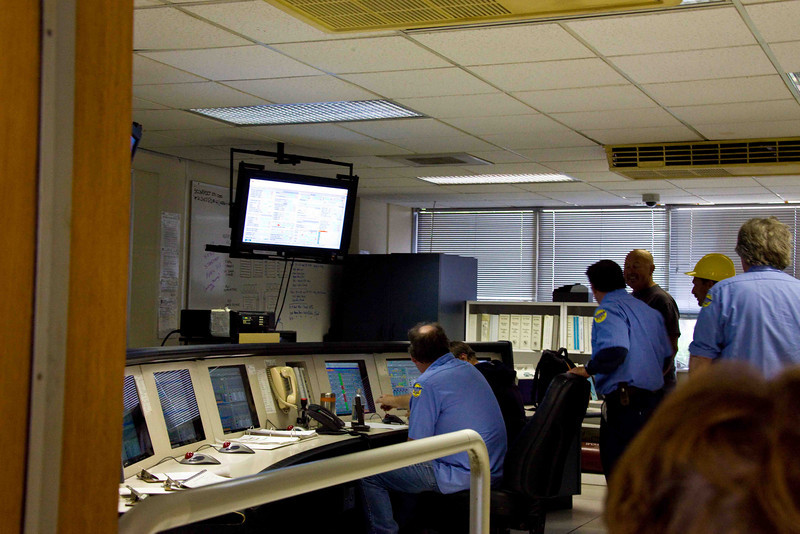Control Room of theTillman Water Reclamation Plant
