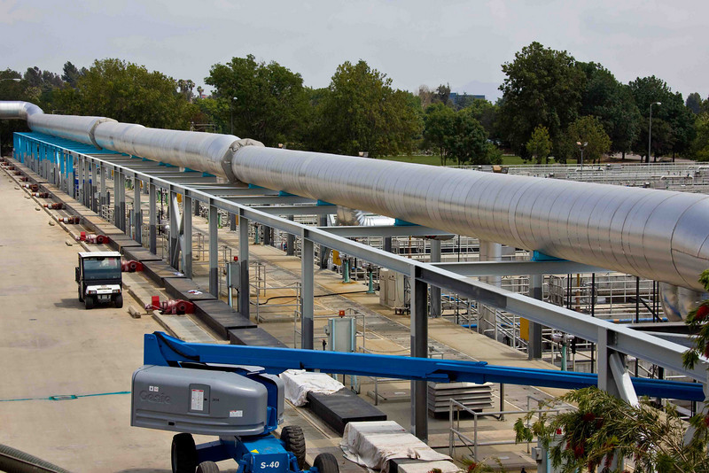 Plumbing of the Tillman Water Reclamation Plant