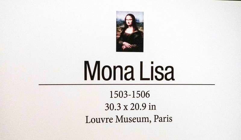 DSC01230 Mona Lisa Info Card