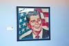 Reagan portrait done in jelly beans