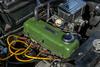 Engine of a 1960 Morris Minor 1000