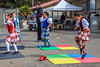 Highland dancing started with kids around age 4. We missed the adult competition.
