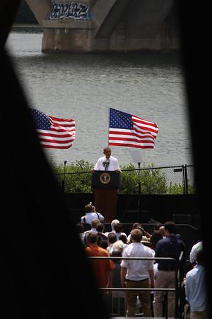 President Visits Georgetown 7/2014