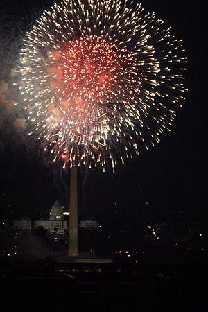 Washington DC Fireworks - 7/4/05