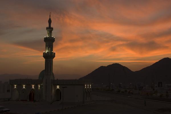 Fujairah Sunset (1 Photograph)