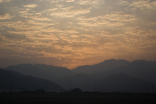 Midsummer Sunset - Fujairah (10 Photographs)