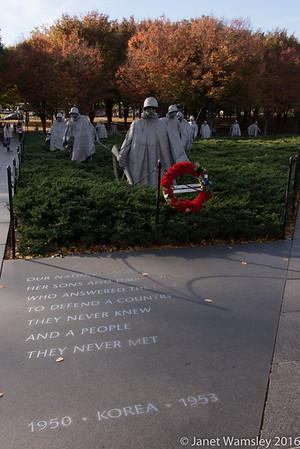 2016 Korean War Memorial