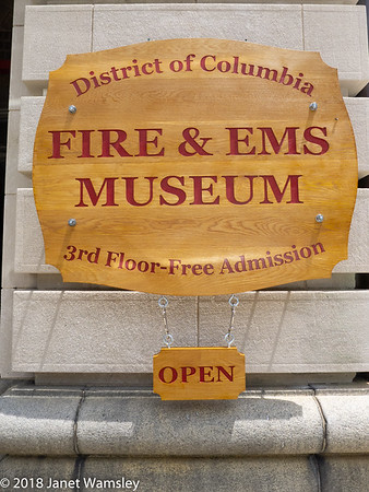 2018 DC Fire and EMS Museum