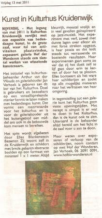 Kulturhus artikel krant