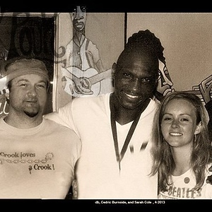 db, Cedric Burnside, and Sarah Cole, The Pourhouse 2013