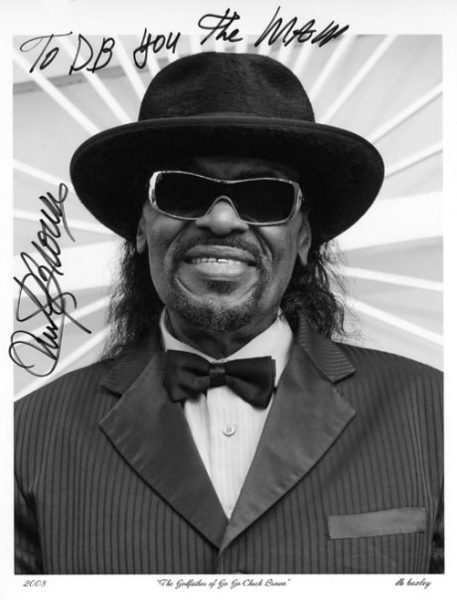 """CHUCK BROWN"" The GODFATHER Of Go-Go www.windmeupchuck.com"
