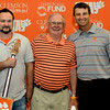 My Dad and I with Dabo Sweeny, Head Coach of the Clemson Tigers Football Team