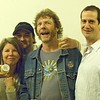 "Sam Bush's wife, db and Sam Bush, and Bill Surdock with the Grey P_____ secret spicy mustard. ""State Theater 2007"" had to be there. — with Sam Bush."