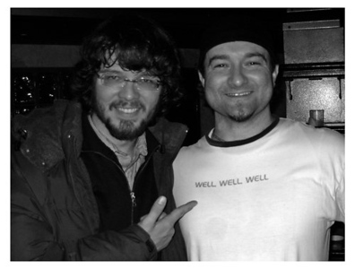 Luther Dickinson of the NMA, and Black Crowes and I backstage @ the 9:30 Club, Washington DC