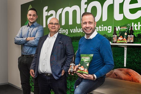 Farmforte Meppel. vlnr Frank Smit, Andre Schaap, Gert Jan Boer. foto: Wim Goedhart