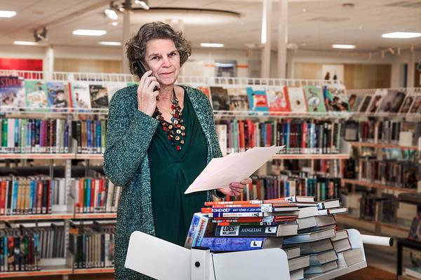 Bibliotheek Meppel - Yke Stiksma foto: Wim Goedhart