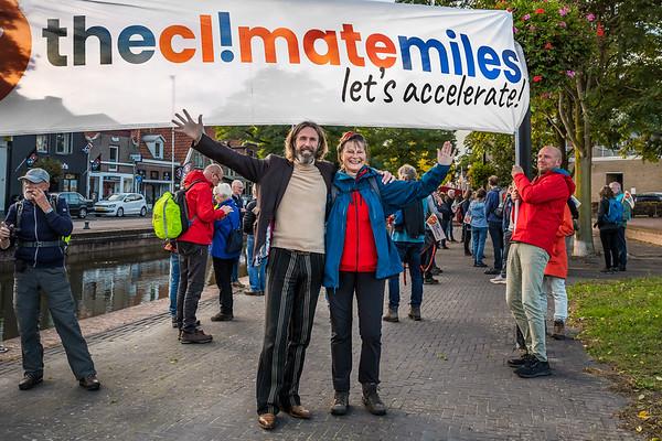 Alex van Oost en Marjan Minnesma,  Urgenda - De Gasfabriek Meppel - The Climate Miles