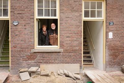 Nederland, Amsterdam, 28-03-2019, Henk en Joke, van der Pekbuurt, foto: Katrien Mulder