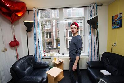 Amsterdam, de Pijp, Marcus, 8 maart 2016, foto: Katrien Mulder