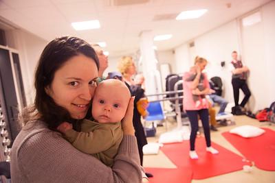 Amsterdam, 19 januari 2015, rondom de geboorte, Czaar Peterstraat, foto: Katrien Mulder