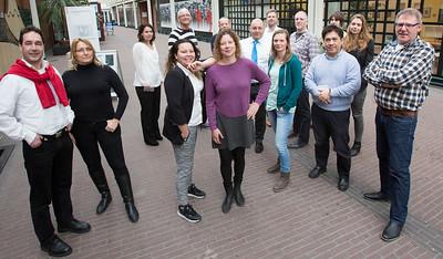 groepsfoto projectgroep sleutels, 2 maart 2016, foto: Katrien Mulder