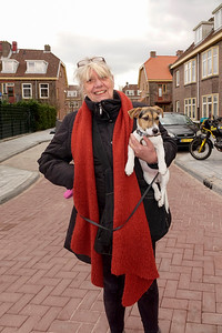 Nederland, Amsterdam, 26-03-2018, Ans, respijt mantelzorgster met medewerkster van Doras, foto: Katrien Mulder
