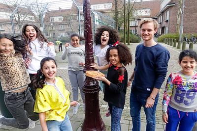 Amsterdam, Amsterdam, vrijwilliger van de maand, Joep 4 april 2016, foto: Katrien Mulder, 4 april 2016, foto: Katrien Mulder