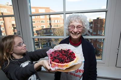 vrijwilligster van de maand, Myriam Mater, 7 maart 2016, foto: Katrien Mulder