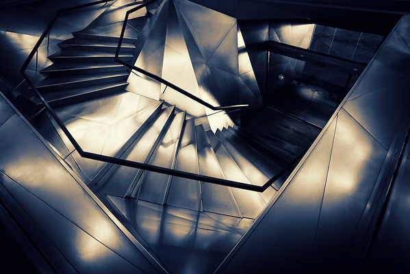The Stairs of the Caixa Forum