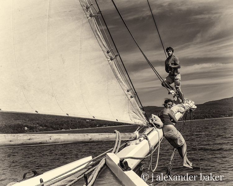 Ready on the Foresails