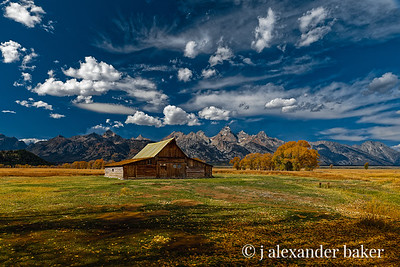 T. A. Moulton Barn, Grand Teton National Park