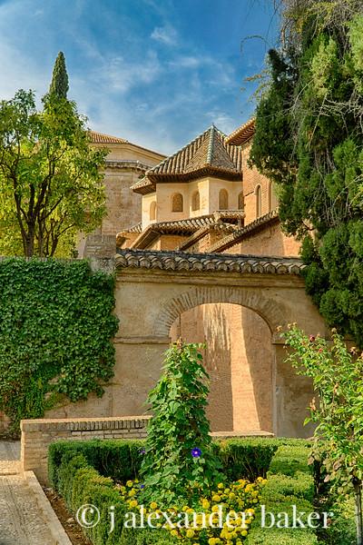 Alhambra Garden Archway