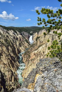 Grand Canyon of the Yellowstone, Yellowstone Natl Park
