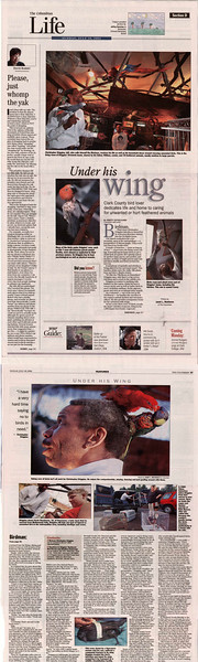 2004 In the News Under His Wing 2 Pages