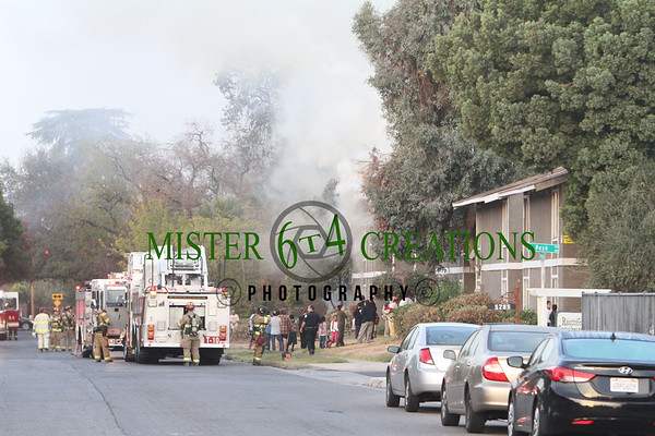 Apartment Fire - October 30, 2014